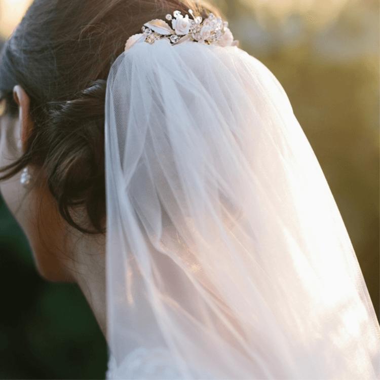 Veil with Haircomb