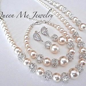 Swarovski Pearl Set