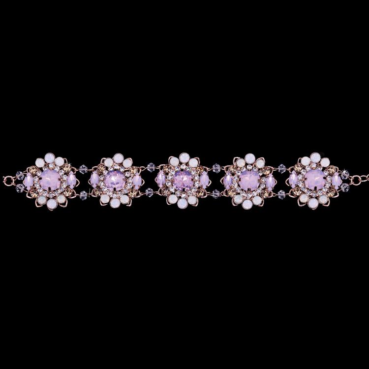opal petals bracelet