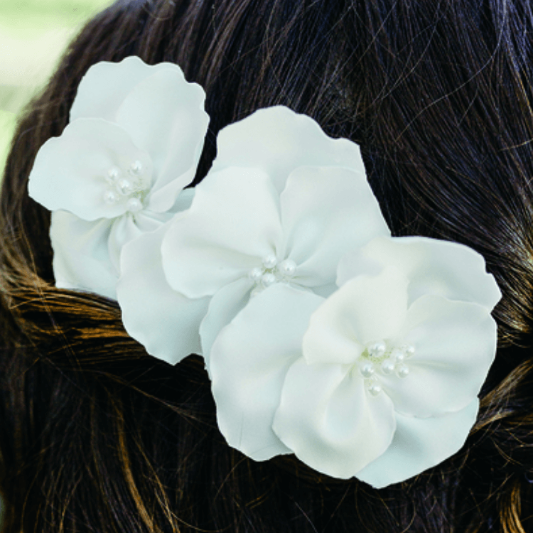 Bridal Hair Pin Floral