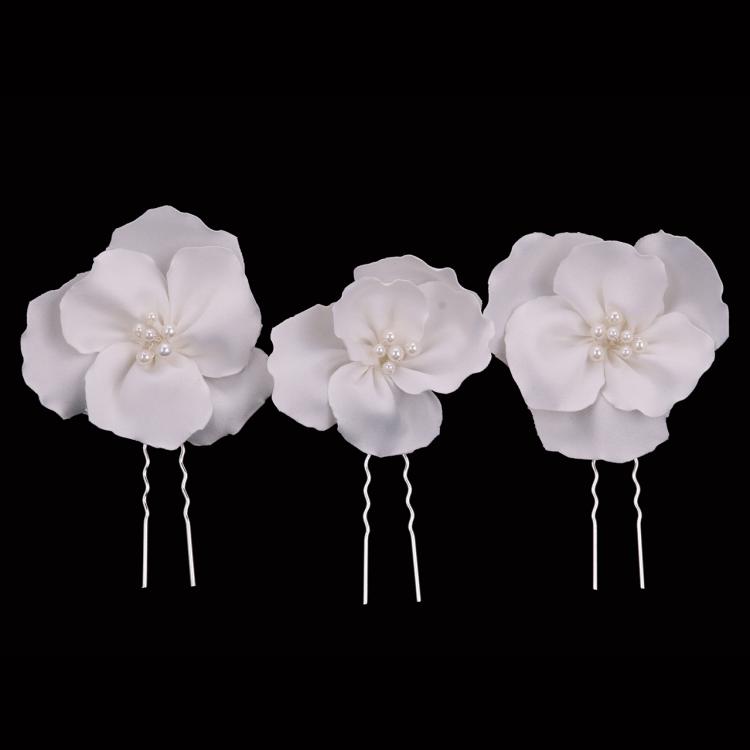 floral bridal hair pin