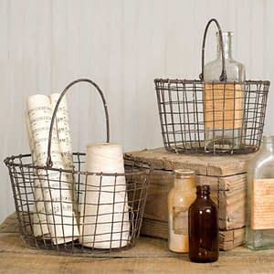 Set of 2 Nesting Baskets
